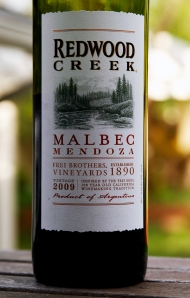 2008 Redwood Creek Malbec